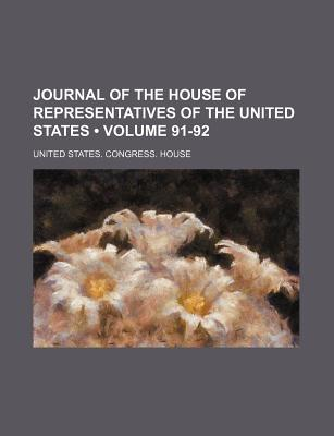 Journal of the House of Representatives of the United States - House, United States Congress