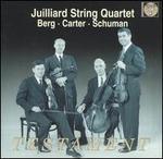 Juilliard String Quartet performs Berg, Carter & Schumann