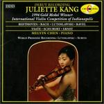 Juliette Kang, 1994 Gold Medal Winner of the International Violin Competition of Indianapolis
