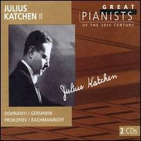 Julius Katchen 2 - Julius Katchen (piano)