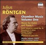 Julius Röntgen: Chamber Music, Vol. 1