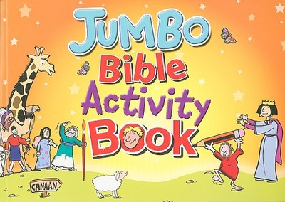 Jumbo Bible Activity Book - Candle Books (Creator)