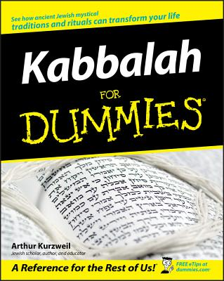 Kabbalah for Dummies - Kurzweil, Arthur