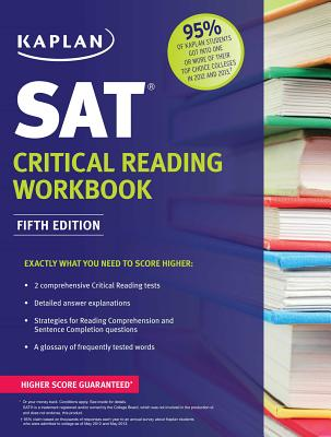 Kaplan SAT Critical Reading Workbook - Kaplan