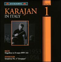 Karajan in Italy, Vol. 1 - Elisabeth Schwarzkopf (soprano); Esther Orell (mezzo-soprano); Giorgio Tadeo (bass); Nicolai Gedda (tenor);...