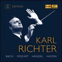 Karl Richter Edition: Bach, Mozart, Händel, Haydn - Adolf Scherbaum (trumpet); Anneliese Seitz (soprano); Ansbach Bach Week Soloists Union; Antonia Fahberg (soprano);...