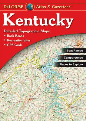 Kentucky - Delorme 2nd - Rand McNally, and Delorme Publishing Company, and DeLorme