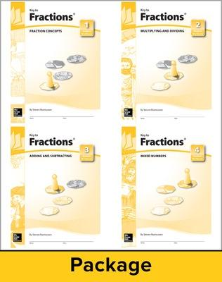 Key to Fractions, Books 1-4, Answers and Notes - McGraw-Hill Education, and Key Curriculum Press