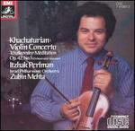 Khachaturian: Violin Concerto; Tchaikovsky: Méditation