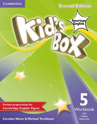 Kid's Box American English Level 5 Workbook with Online Resources - Nixon, Caroline