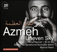 Kinan Azmeh: Uneven Sky - Bodek Janke (percussion); Dávid Adorján (cello); Dima Orsho (gesang); Hogir Göregen (percussion); Kinan Azmeh (clarinet);...