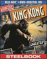 King Kong [2 Discs] [Includes Digital Copy] [UltraViolet] [SteelBook] [Blu-ray/DVD] - Peter Jackson