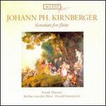 Kirnberger: Sonatas for flute