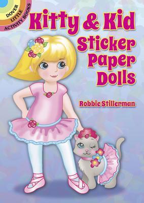 Kitty & Kid Sticker Paper Dolls - Stillerman, Robbie