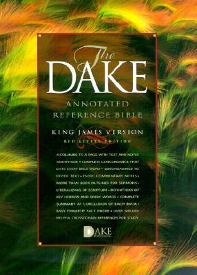 KJV Dake Burgundy Bonded Leather - Dake Publishers