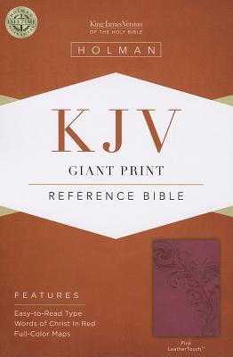 KJV Giant Print Reference Bible, Purple LeatherTouch - Broadman & Holman Publishers (Creator)