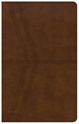 KJV Ultrathin Reference Bible, Brown Deluxe Leathertouch, Indexed - Holman Bible Staff (Editor)