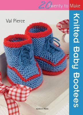 Knitted Baby Bootees - Pierce, Val