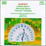 "Kodály: Galánta Dances; Marosszék Dances; ""Peacock"" Variations"