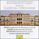 Koussevitzky conducts Classical Symphonies