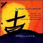 Kovalesky: Lima- Liturgie