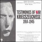 Kriegszeugnisse (Testimonies of War), 1914-1945