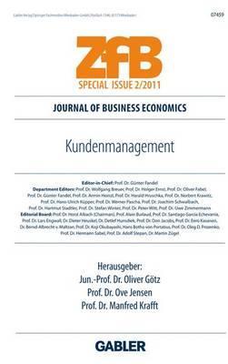 Kundenmanagement - Gotz, Oliver (Editor), and Jensen, Ove, Mr. (Editor), and Krafft, Manfred (Editor)