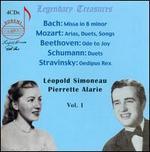L�opold Simoneau & Pierrette Alarie, Vol. 1