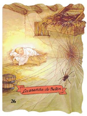 La Aranita de Belen - Ruiz, Margarita (Illustrator), and Capellades, Enriqueta (Adapted by), and Carrion, Cristina (Adapted by)