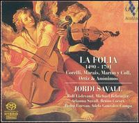 La Folia, 1490-1701 - Adela Gonzalez-Campa (castanets); Adela Gonzalez-Campa (grelots); Arianna Savall (harp); Bruno Cocset (basse de viole);...