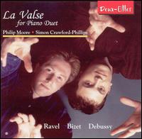La Valse for Piano Duet - Philip Moore (piano); Simon Crawford-Phillips (piano)