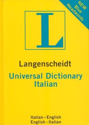 Langenscheidt Universal Dictionary: Italian - Langenscheidt