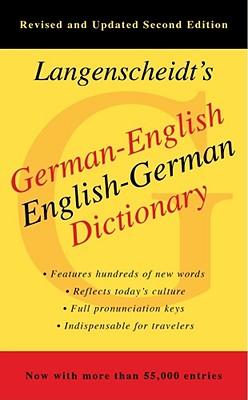 Langenscheidt's German-English Dictionary - Langenscheidt