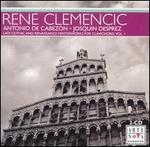 Late Gothic and Renaissance Masterworks for Clavichord, Vol. 1: Antonio de Cabezón, Josquin Desprez