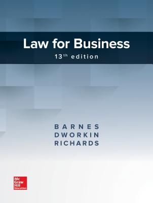 Law for Business - Barnes, A James, and Dworkin, Terry M, and Richards, Eric L