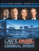Law & Order: Criminal Intent - The First Year [6 Discs] -
