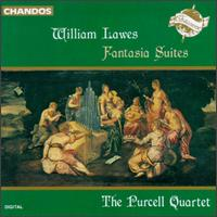 Lawes: Fantasia Suites - Catherine Mackintosh (violin); Catherine Weiss (violin); Peter Holman (organ); Purcell Quartet (strings); Richard Boothby (bass viol); Robert Woolley (chamber ensemble)