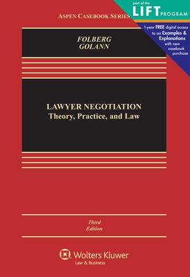 Lawyer Negotiation: Theory, Practice, and Law - Folberg, Jay, Jd