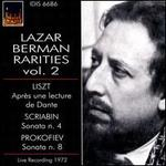 Lazar Berman Rarities, Vol. 2