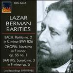 Lazar Berman Rarities