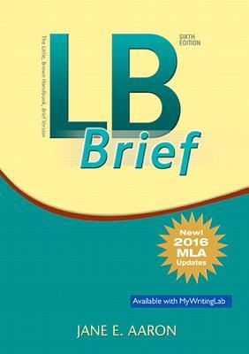 LB Brief [Tabbed Version], Brief Version, MLA Update - Aaron, Jane E