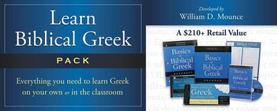 Learn Biblical Greek Pack: Integrated for Use with Basics of Biblical Greek - Zondervan