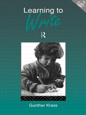 Learning to Write - Kress, Gunther