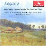 Legacy: 19th-Century Virtuoso Duos for Two Flutes and Piano