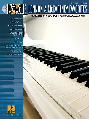 Lennon & McCartney Favorites: Piano Duet Play-Along Volume 38 - McCartney, Paul (Composer), and Lennon, John (Composer)