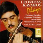 Leonidas Kavakos Plays Debussy, Kreisler, Paganini, Schubert, Tchaikovsky, Wieniawski & More