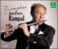 Les Triomphes de Jean-Pierre Rampal - Alain Marion (flute); Anne-Marie Beckensteiner (harpsichord); Aurèle Nicolet (flute); Diego Masson (percussion);...