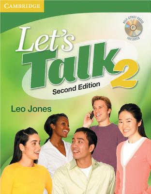 Let's Talk Level 2 Student's Book with Self-Study Audio CD - Jones, Leo