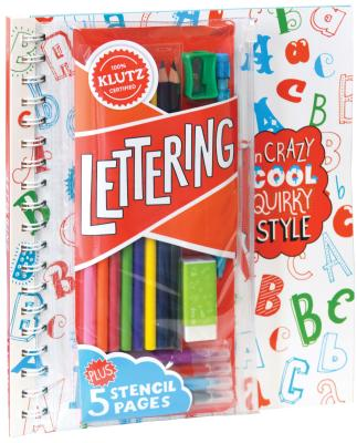 Lettering in Crazy, Cool, Quirky Style - Klutz Press (Creator)