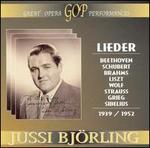 Lieder, 1939-1952